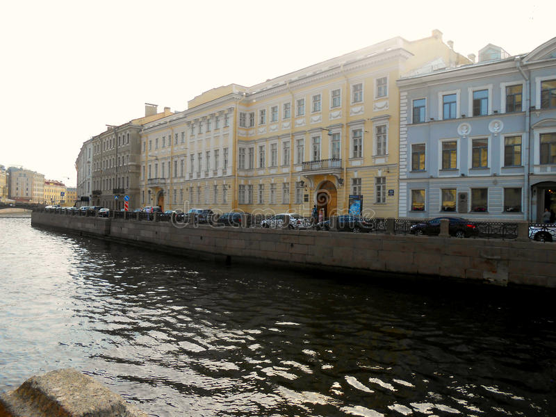 Pushkin mieszkanie Museum, St Petersburg zdjęcia stock