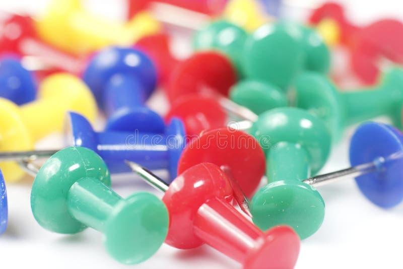 Pushpin Close Up Stock Images