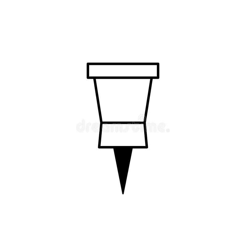 pushpin απεικόνιση αποθεμάτων