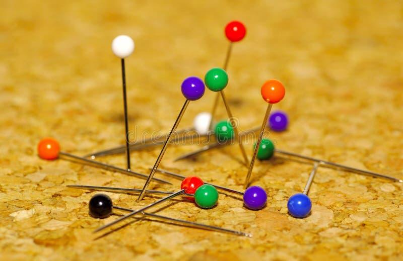 Download Pushpins zdjęcie stock. Obraz złożonej z officemates, thumbtack - 126440