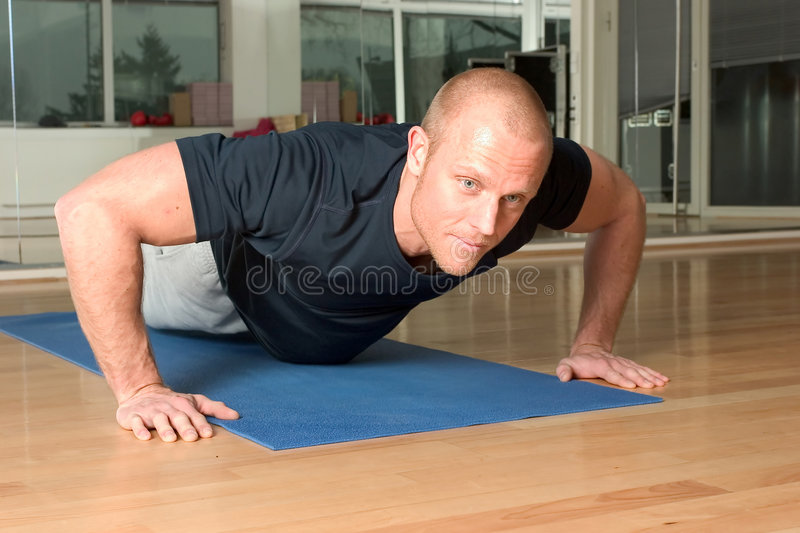 pushup obraz royalty free