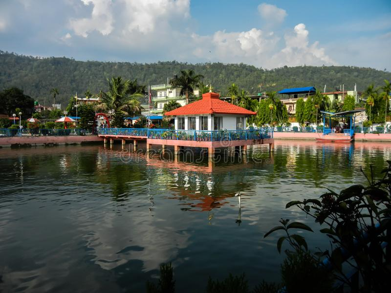 Puspa lal park hetauda Nepal obrazy stock
