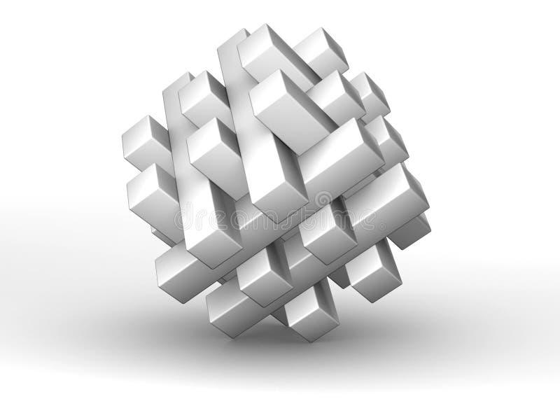 pussel 3d vektor illustrationer
