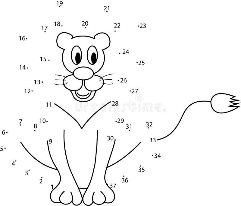 Pussellek för ungar vektor illustrationer