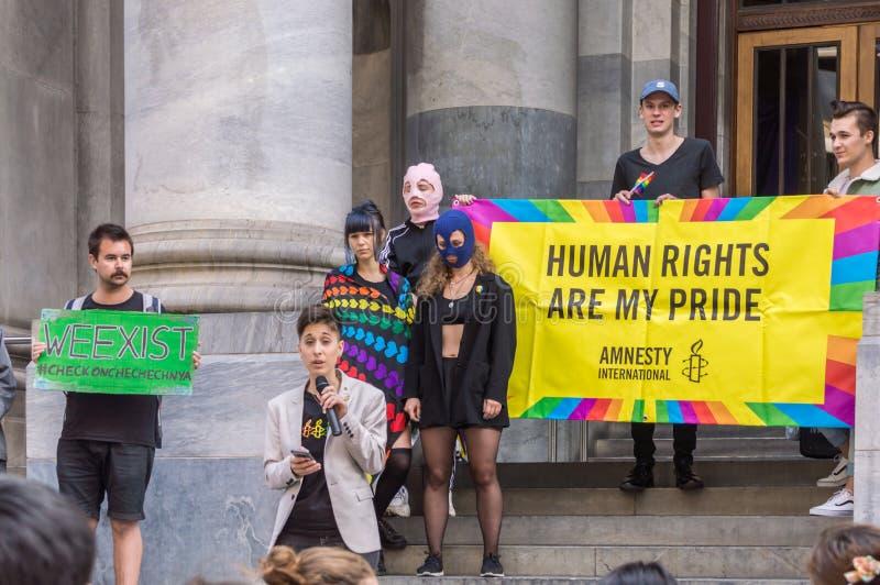 Pussy Riot 2019 royalty-vrije stock foto
