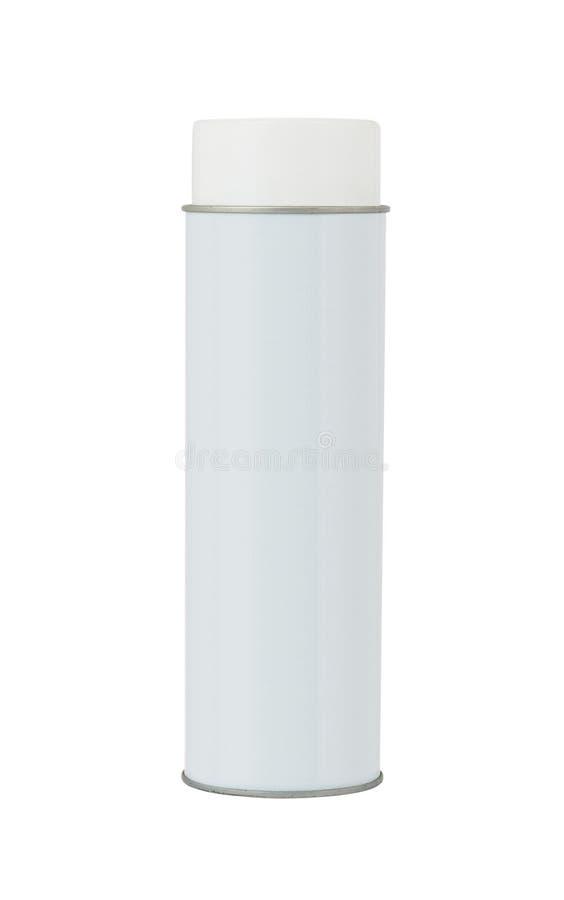 Pusta aluminiowa kiści puszka zdjęcia royalty free
