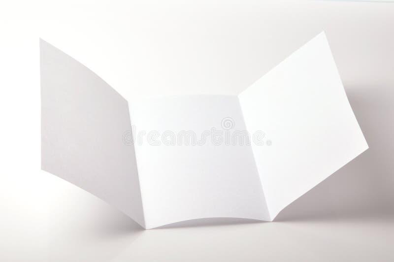 pusta broszurka