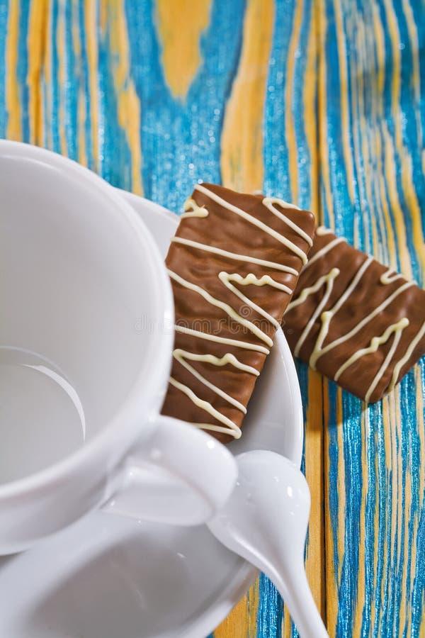 pusta ciastko kawowa filiżanka fotografia royalty free