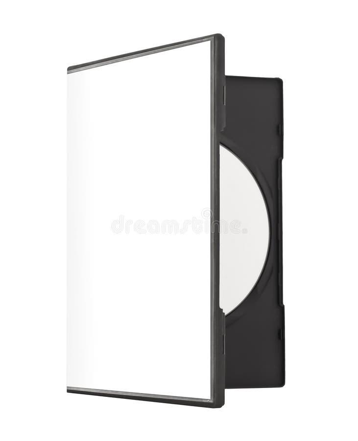 Pusta DVD skrzynka fotografia royalty free