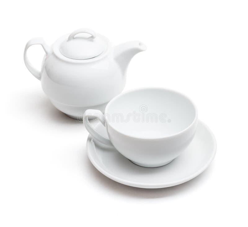 Pusta herbaciana filiżanka obrazy royalty free