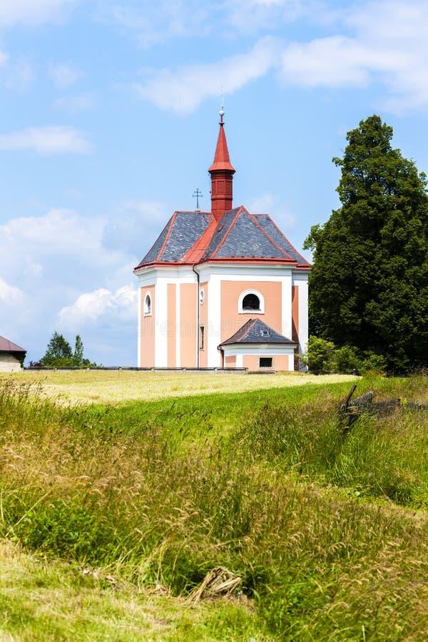 Pusta Kamenice, Tjeckien royaltyfria foton