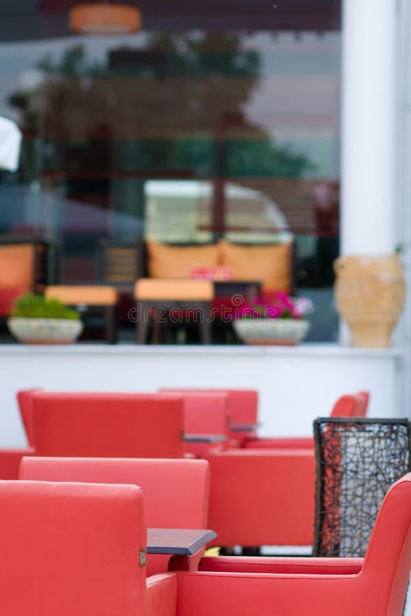 Pusta kawiarnia zdjęcie royalty free