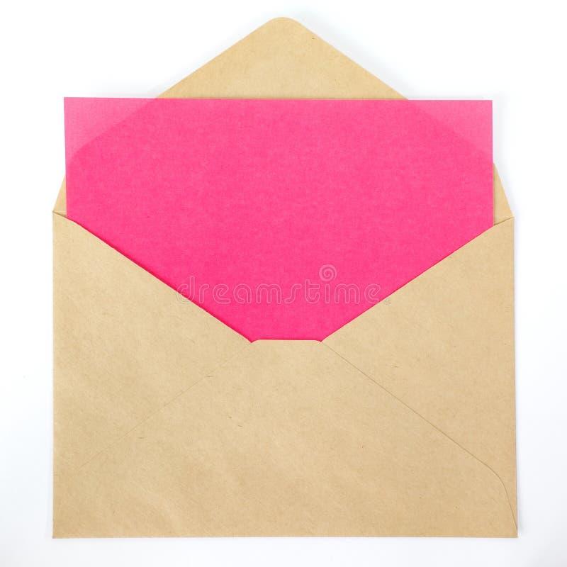 Pusta koloru papieru notatka fotografia royalty free