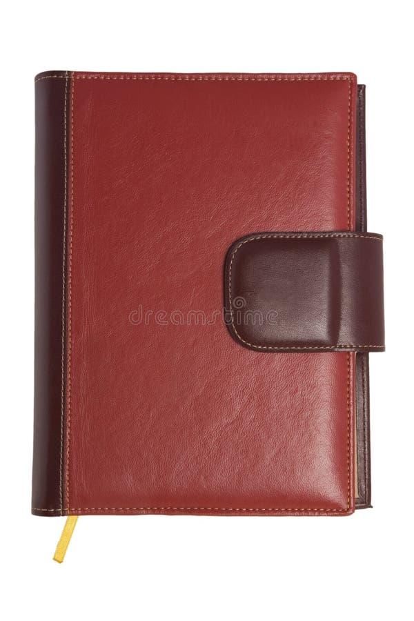 pusta książka zakrywająca rzemienna czerwona miękka część obrazy royalty free