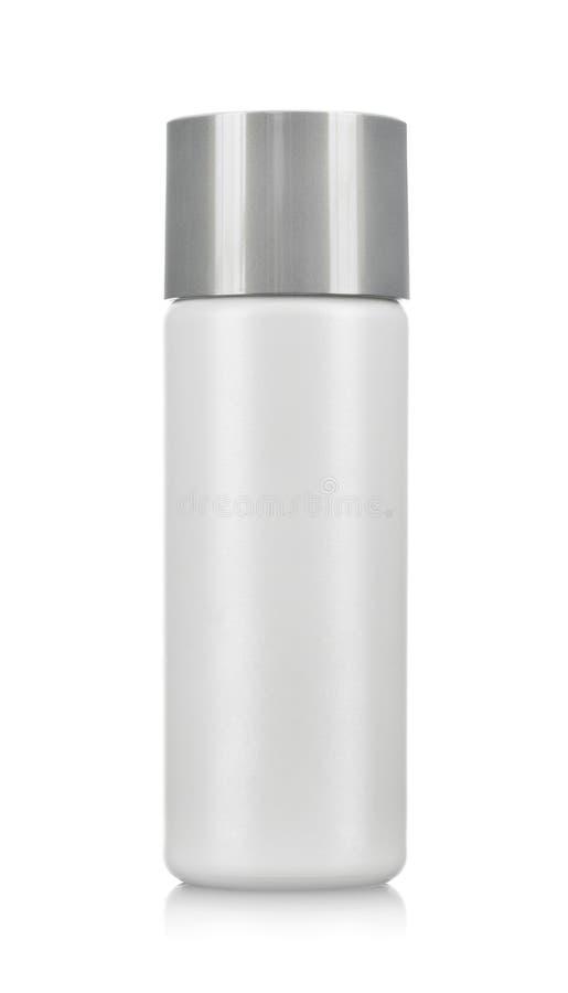 Pusta kosmetyk butelka obrazy royalty free