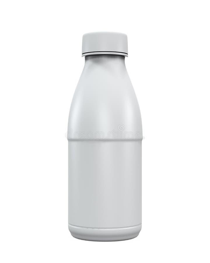 Pusta plastikowa napój butelka royalty ilustracja