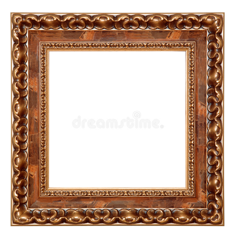 pusta rama odizolowane zdjęcie obrazy stock