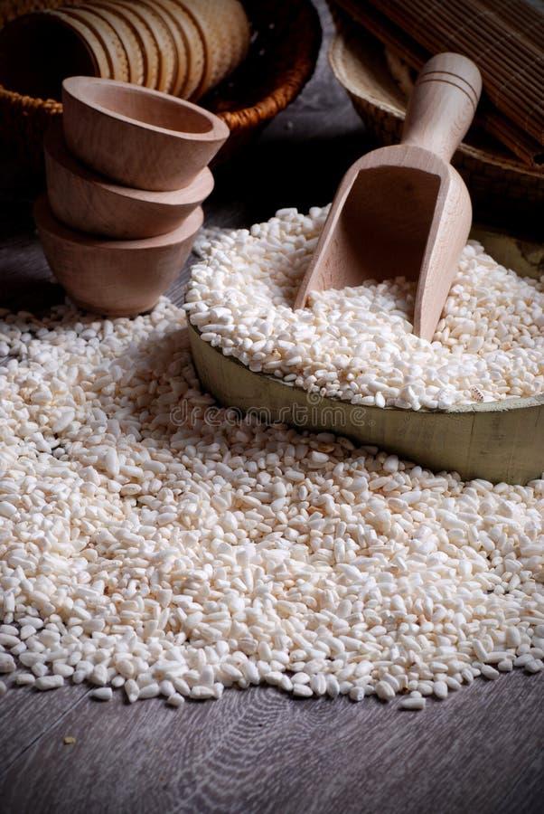 pusta rice arkivfoto