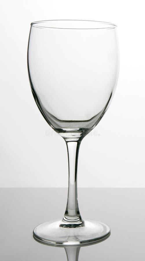 pusta szklanka obraz stock