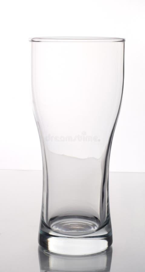 pusta szklanka fotografia stock