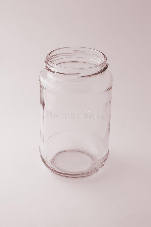 pusta szklanka pojemnika obraz royalty free