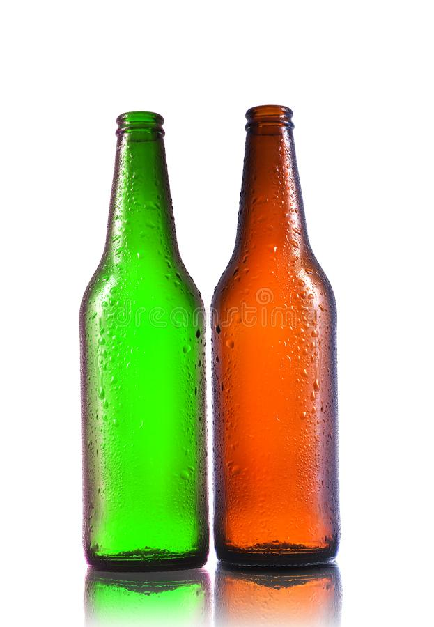 puste butelki po piwie fotografia royalty free