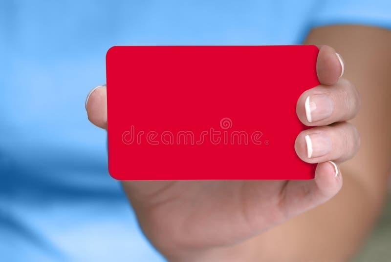 Download Puste Karty Pokazujący Ręce Obraz Stock - Obraz: 43555