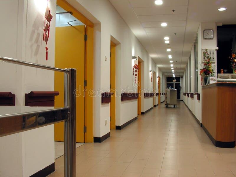 puste korytarze hospicjum zdjęcia stock