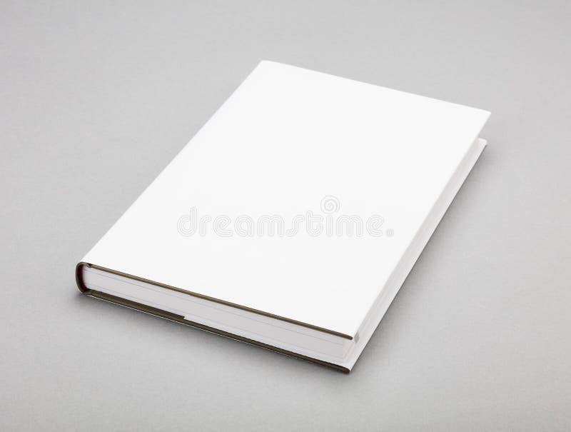 Puste miejsce bielu książkowa pokrywa 5,5, 8,8 x wewnątrz obrazy stock