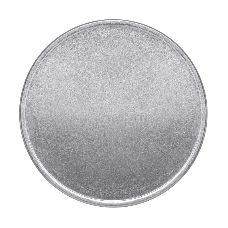 Puste miejsce medal lub moneta zdjęcie royalty free