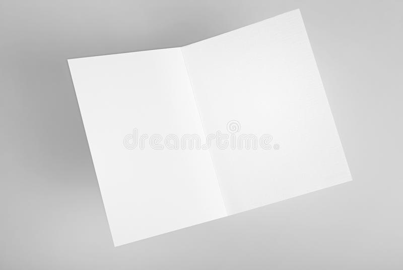 Puste miejsce otwarta karta royalty ilustracja
