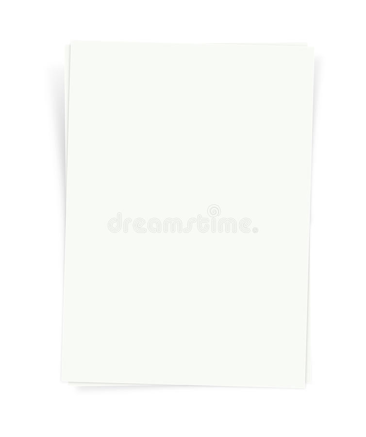 Puste miejsce Papier - XXXL royalty ilustracja