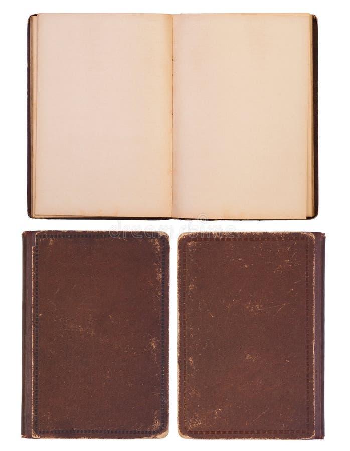 Puste miejsce, stara książka zdjęcia stock