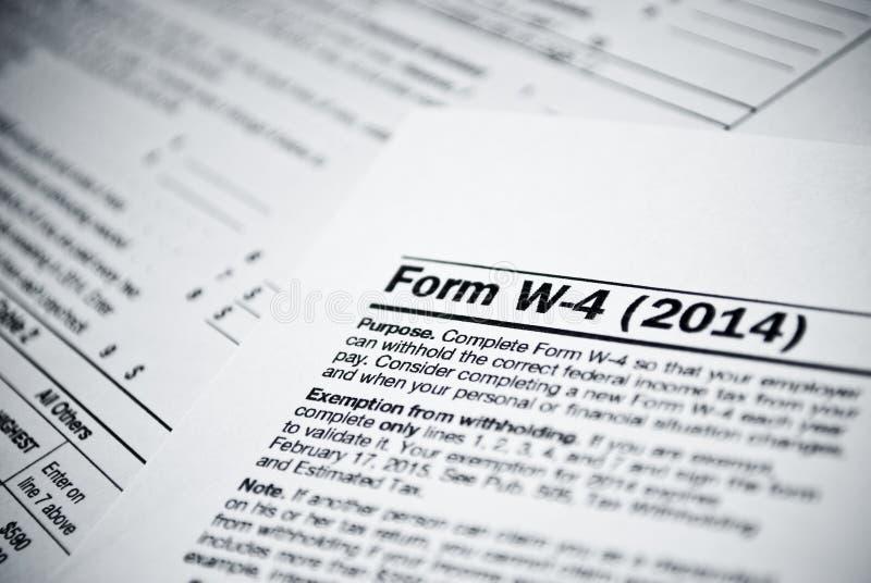 Puste podatek dochodowy formy. Amerykanin 1040 Indywidualnego podatku dochodowego powrotnych form. obrazy royalty free