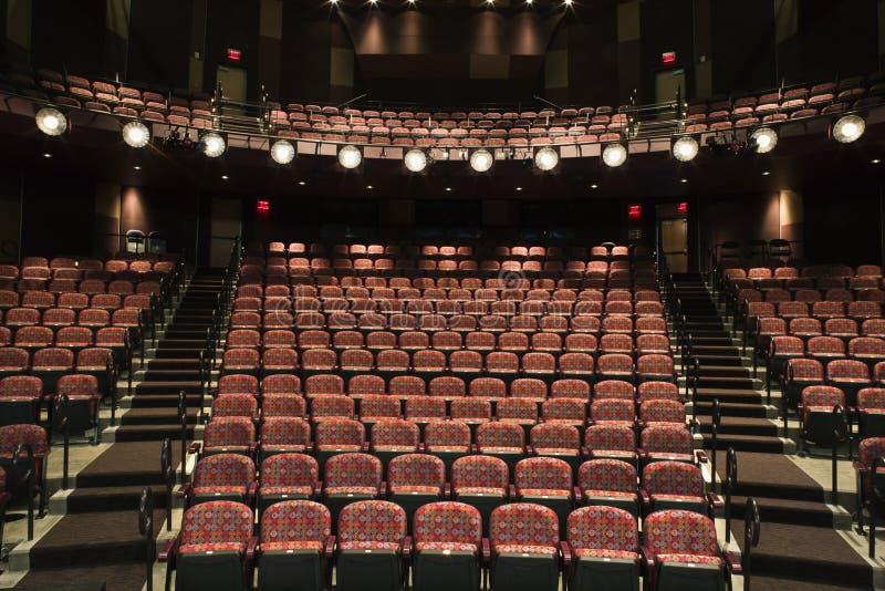puste siedzenie teatr fotografia royalty free
