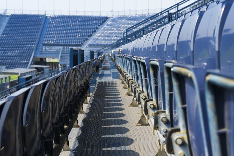 Puste siedzenie w stadium zdjęcie royalty free
