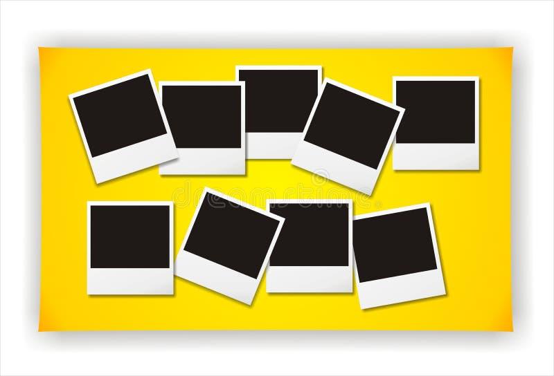 puste zdjęcie polaroid ilustracji