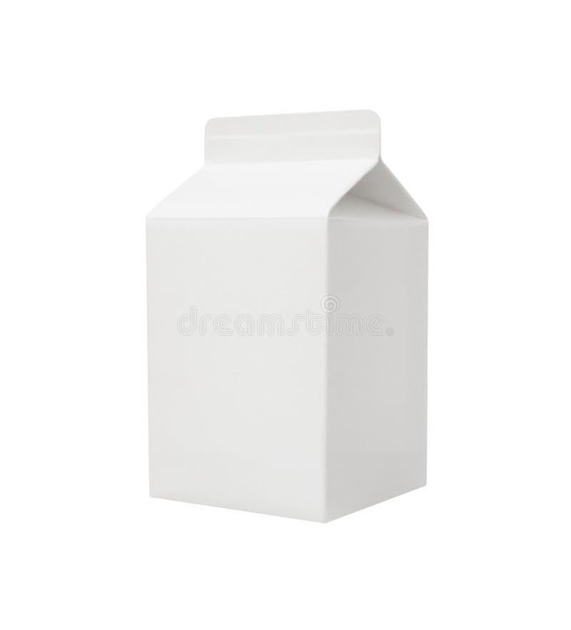 Pustego miejsca mleka pakunek obraz royalty free