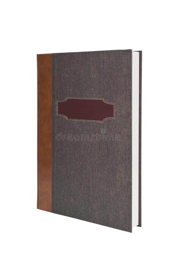 pustego miejsca yearbook odosobniony biały zdjęcia stock