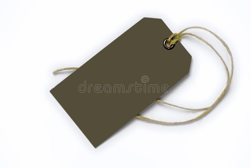 pustego sznurka etykietka wiążąca zdjęcia royalty free
