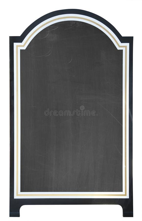 pustej deski odosobniony menu zdjęcie royalty free