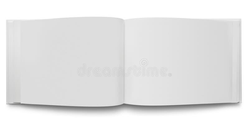 pustej książki otwarte strony obraz royalty free
