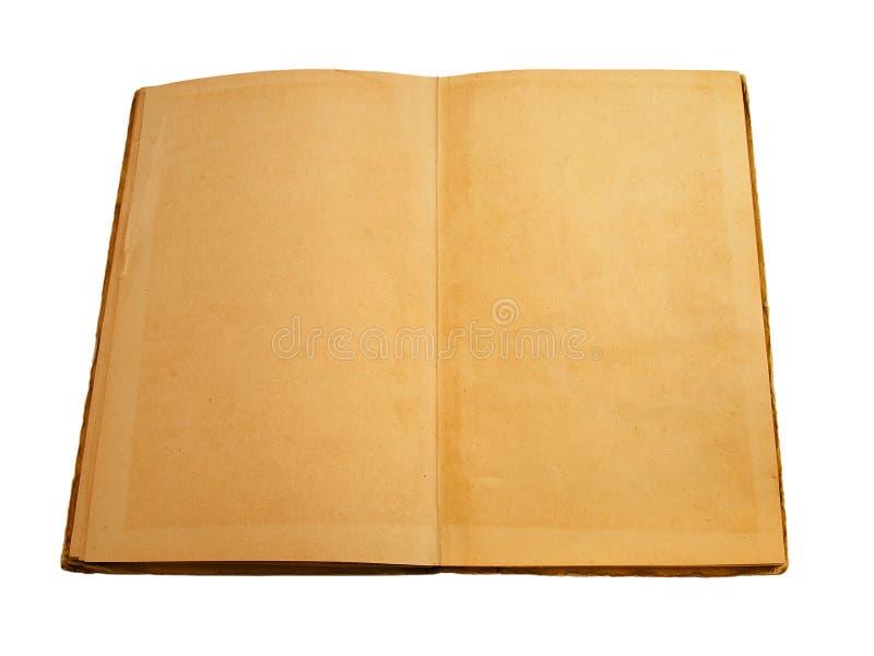 pustej książki rozpieczętowany stron rocznik obrazy royalty free