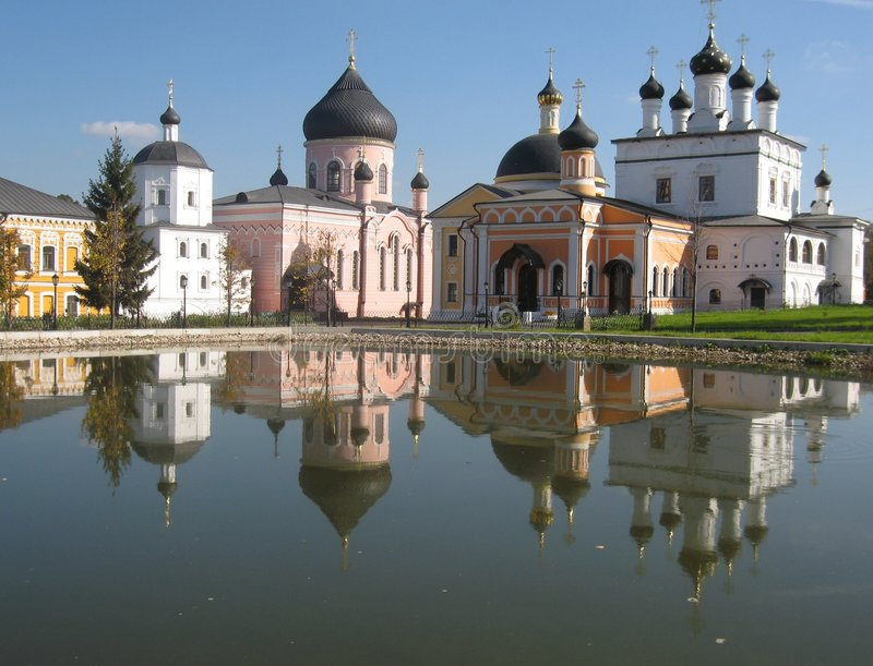 Pustin de Davidova de monastère, Russie image stock