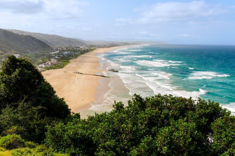 Pustkowie plaża w Południowa Afryka zdjęcia royalty free