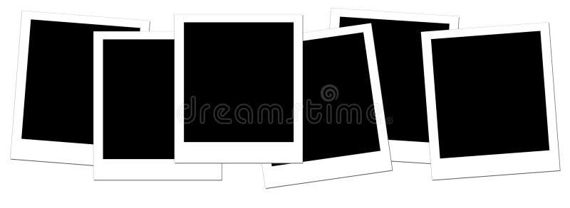 pusty 1 polaroid ilustracji