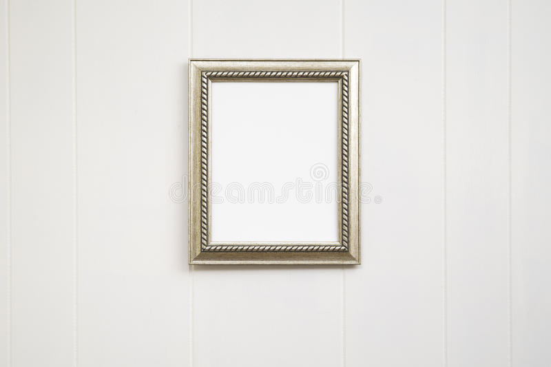 Pusty antyk ramy tło - Vertical zdjęcia stock