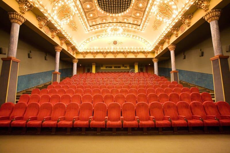 Pusty Audytorium Kino Bezpłatna Fotografia Stock