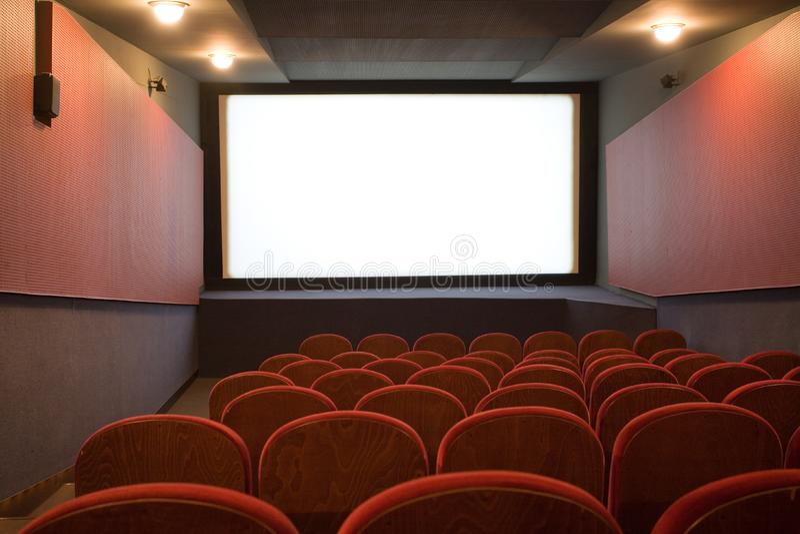 Pusty Audytorium Kino Bezpłatne Zdjęcia Stock