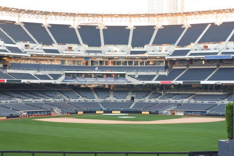 pusty baseballa stadium zdjęcia stock